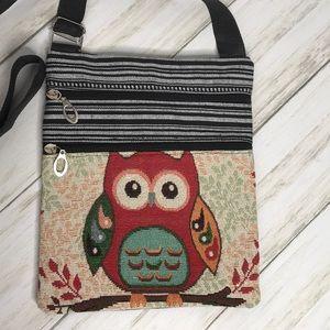 Adorable Owl Adjustable Crossbody Bag